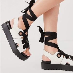 NWOT Urban Outfitters platform sandals
